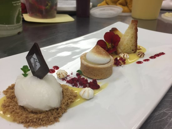 St. Paul, Canadá: Dessert - Lemon 4 ways