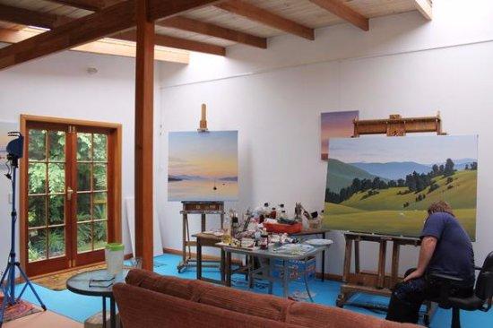 Cygnet, Australia: Richard Stanley's Studio interior