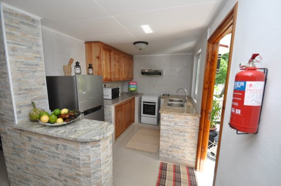 Port Glaud, Seychelles: View of the Kitchenette