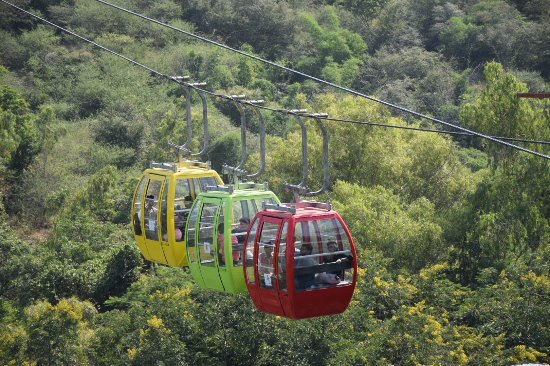 Machla Magra (Fish Hill): Cable Car