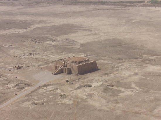 Nasiriyah, Irak: Ziggurat from our helo