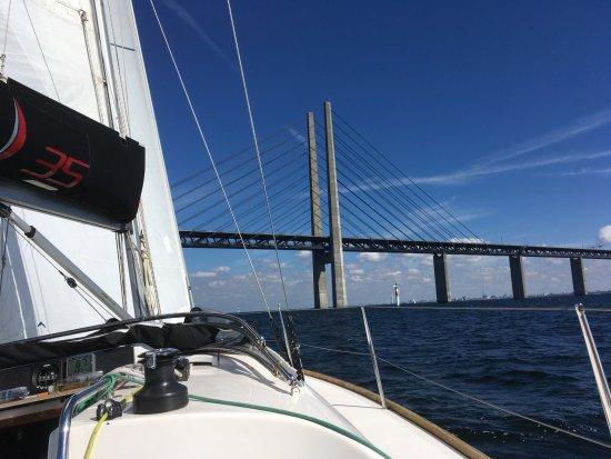 Puente de Oresund: aus Richtung Süden