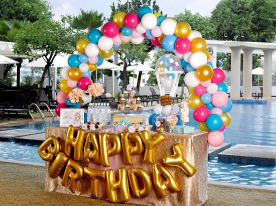 baby shower event at the poolside picture of park hotel clarke