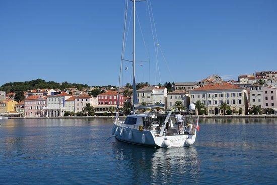 Mali Losinj, Croatia: Segelboot