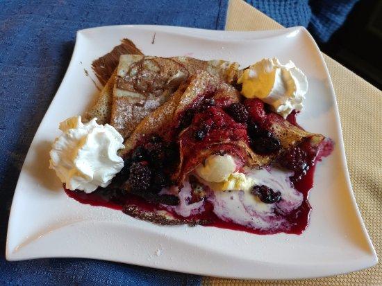 Jesenice, สโลวีเนีย: Slovenian pancakes