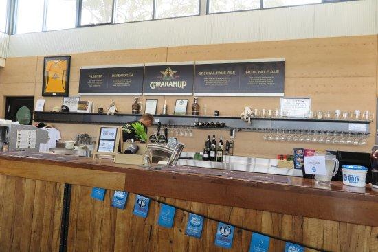Cowaramup, Australia: Bar area