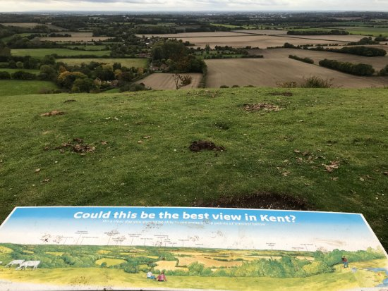 Wye, UK: Could This Be The Best View in Kent?