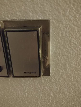 Troutdale, Oregón: Old thermostat