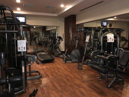 Fitnessraum hotel  Fitnessraum - Sunis Evren Beach Resort Hotel & Spa, Side Resmi ...