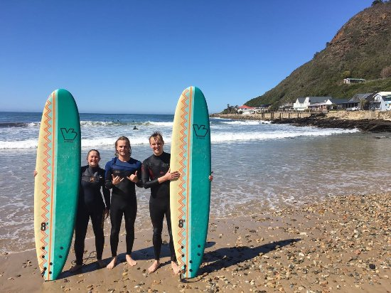 Wilderness, Sydafrika: Nice Surfing Trip in Vic Bay