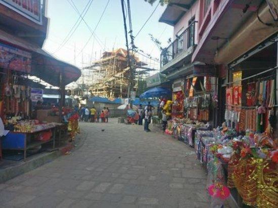 Kurintar, Nepal: Vendors around Manakamana Temple