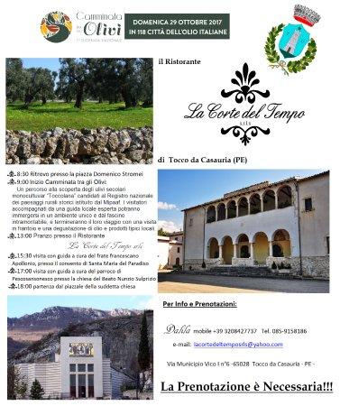 Tocco da Casauria, Italia: per info e prenotazioni CHIAMATECIIIIII