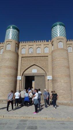 Khiva, อุซเบกิสถาน: Porta della Cittadella Kunya-ark