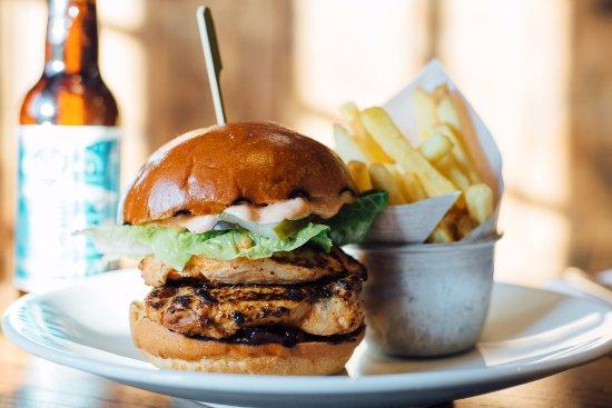Royston, UK : Chicken Burger