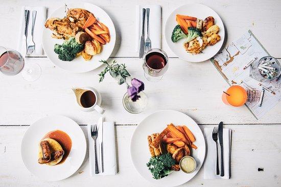 Royston, UK : Family meal?