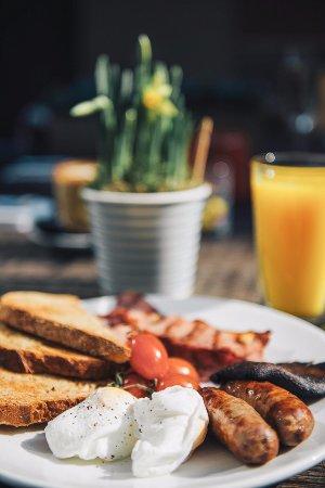 Royston, UK : Breakfast