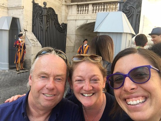 Food Tours of Rome: The Vatican with Francesca