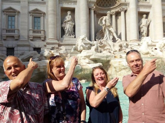 Food Tours of Rome: Trevi Fountain