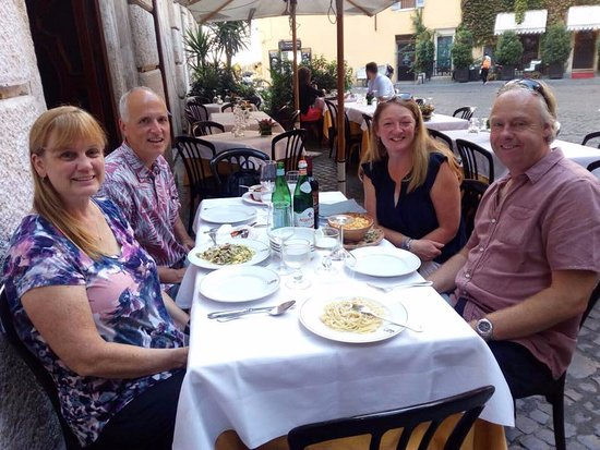 Food Tours of Rome: Old Restaurant with cellar exposed
