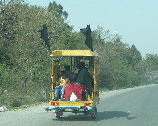 Territorio de la Capital Islamabad, Pakistán: Landtransport