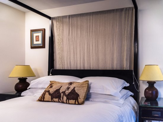 The Keep: Four Poster Bed  in the Pilchard Press Room