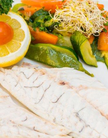 Le loup de mer en filet picture of bar restaurant l - Cuisiner le loup de mer ...