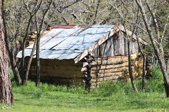 An old hut from the gold rush days in Daylesford