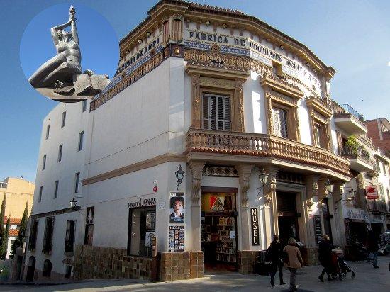 Sant Cugat del Valles, إسبانيا: Façana de Cal Gerrer, restaurada per la Fundació Cabanas l'any 2015