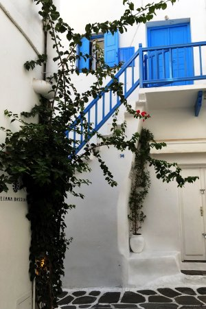 Villa Pinelopi Apartments & Rooms: Set amidst the lovely white-washed streets of Mykonos