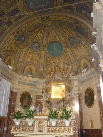 Marano sul Panaro, อิตาลี: abside con altare maggiore