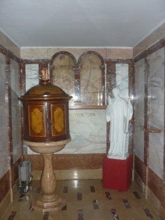Chiesa Parrocchiale di San Lorenzo: battistero