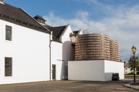 """Dalwhinnie, UK: A l'intérieur de """"fûts"""", les serpentins de refroidissement"""