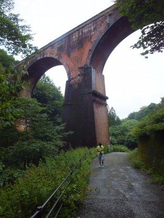 Annaka, Япония: 素晴らしい橋です。