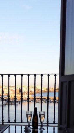 Palazzo Barba : Sunset im Zimmer