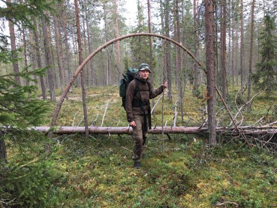 Suomussalmi, Suomi: Tarmo was our great guide in Hossa National Park @hossatravels