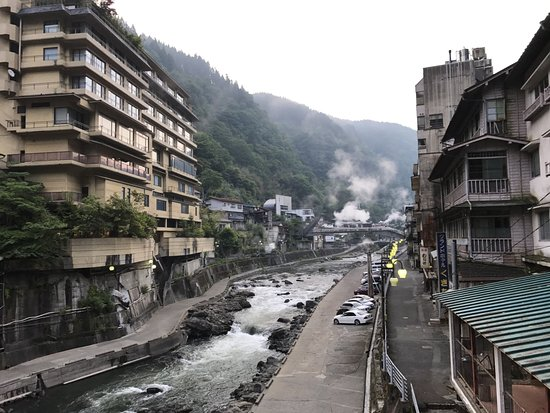 Tsuetate Onsen: A good view of a traditional onsen village