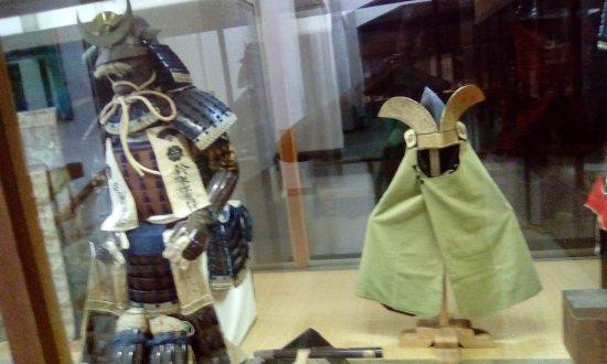 Shimabara Castle: samurai armour display 2