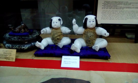 Shimabara Castle: doll display