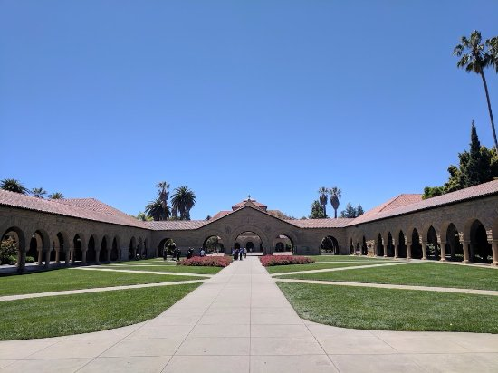 Palo Alto, CA: Opening Picture - An invite to Stanford University, CA.