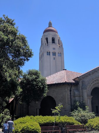 Palo Alto, Kaliforniya: Front View @ Stanford University, CA.