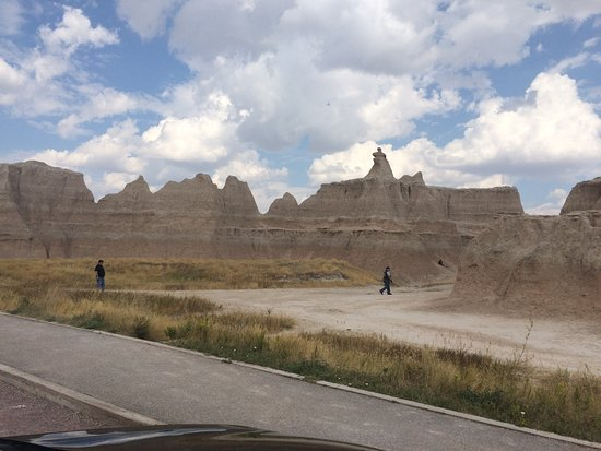 Interior, SD: Badlands walking trails