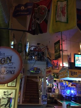 De Pere, WI: Another view from inside the bar, and up to our balcony.