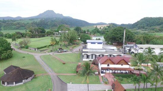 Saint-Pierre, Мартиника: Prise de vue par drone.