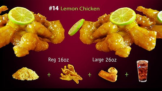 Forsyth, MO: Lemon Chicken Combo, HK Express