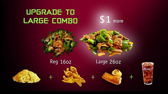 Forsyth, มิสซูรี่: Upgrade to Large for $1, Get 10 oz. More!