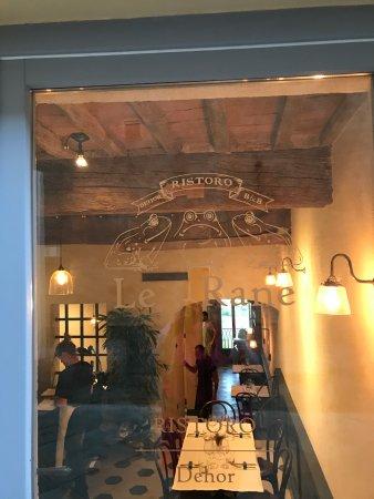 """Santa Lucia, Italy: Ristorantino """"Le 3 rane"""" a pochi metri dalla struttura Antico Borgo"""