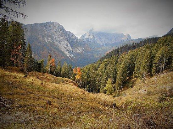Dellach, Austria: Herbstliche Wanderung vom Nassfeldpass zur Ofenalm