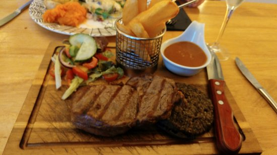 Hawick, UK: Steak