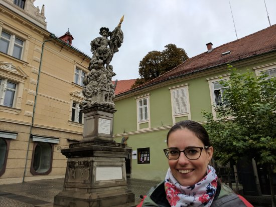Ptuj, สโลวีเนีย: Sanja! (surprise...I didn't realize I had caught her in this photo!)
