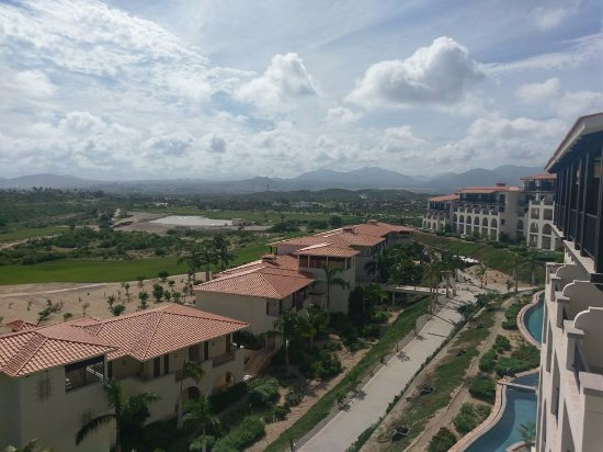 Secrets Puerto Los Cabos Golf & Spa Resort: View from a balcony.